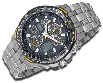 Citizen Titanium eco drive watch