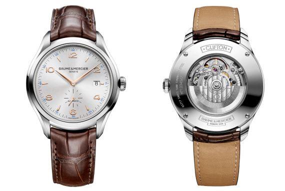 Baume & Mercier Men's BMMOA10054 Clifton Analog Display Swiss Automatic Brown Watch