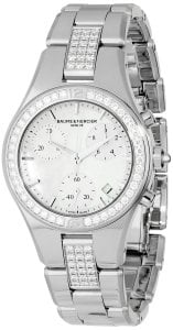 Baume & Mercier Women's 10017 Linea Ladies Stainless Steel Diamond Watch