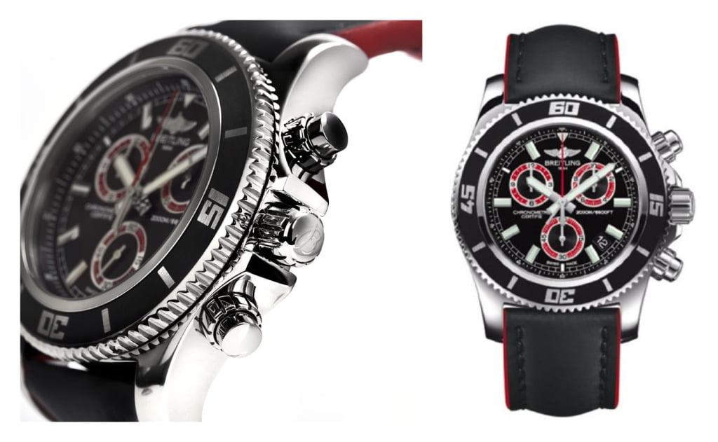 Breitling Aeromarine Superocean Chronograph M2000 Mens Watch A73310A8/BB72