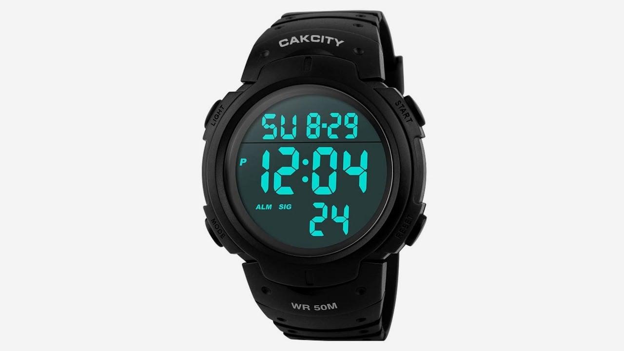 CakCity Digital Sports Watch for nurses working nightshift