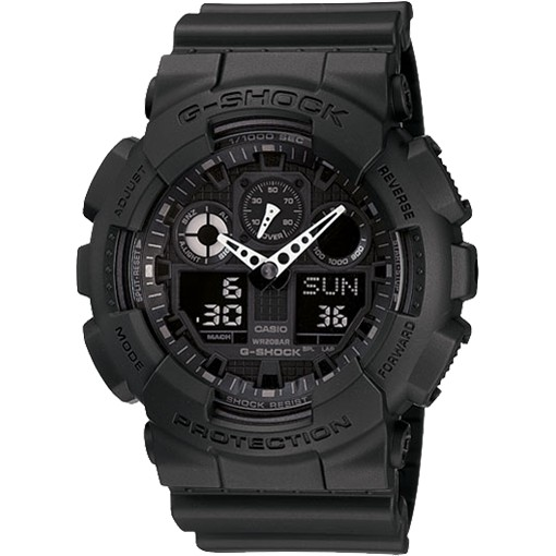 casio ga100 1a1 review military watch