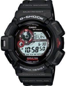 Casio g shock mudman