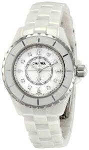 Chanel Women's H2422 J12 Diamond Dial Watch