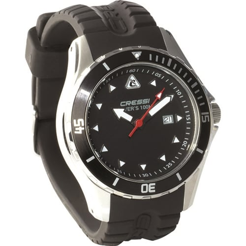 Cressi Sub MANTA Scuba Diving 100M Wrist Watch