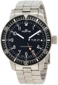 Fortis Men's 647.10.11M B-42 Official Cosmonauts Automatic Black Dial Watch Review