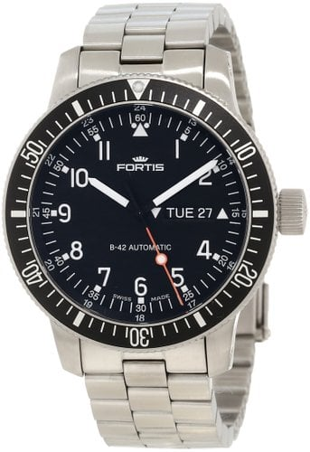 fortis men's 647.10.11m b-42 Watch Review
