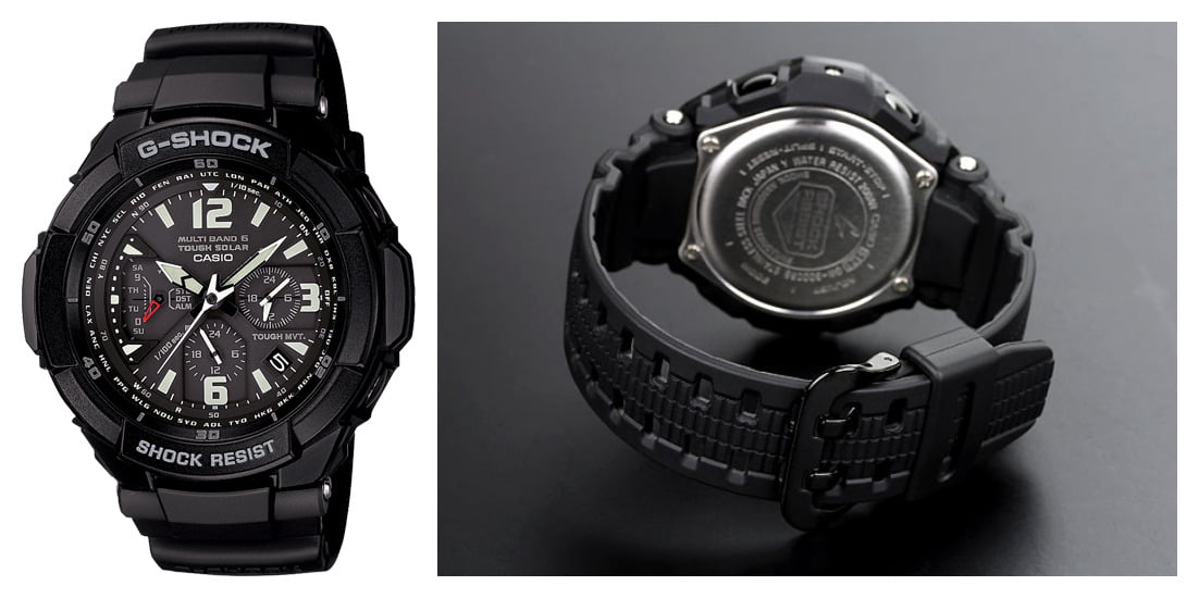 G-SHOCK Men's The G-Aviation Atomic Timekeeping GW3000BB-1A
