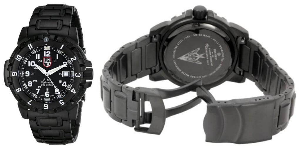 Luminox Men's A.6402 F-117 Nighthawk Analog Quartz Sapphire Glass Watch