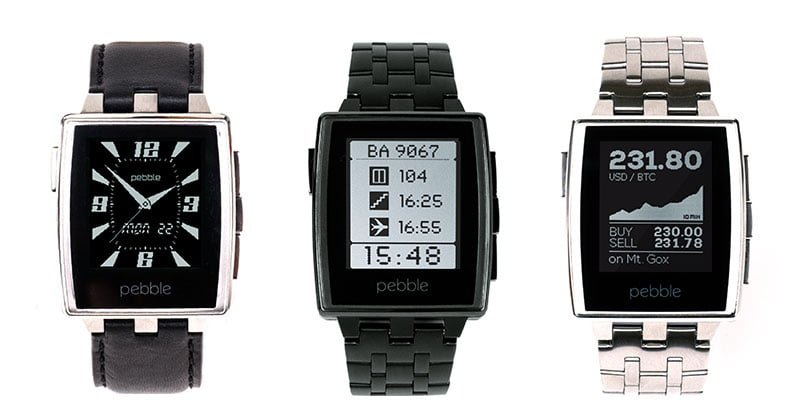 Best Smart Watches - pebble steel smart watch