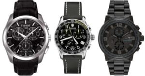 Top 11 Black Watches for Men of Style