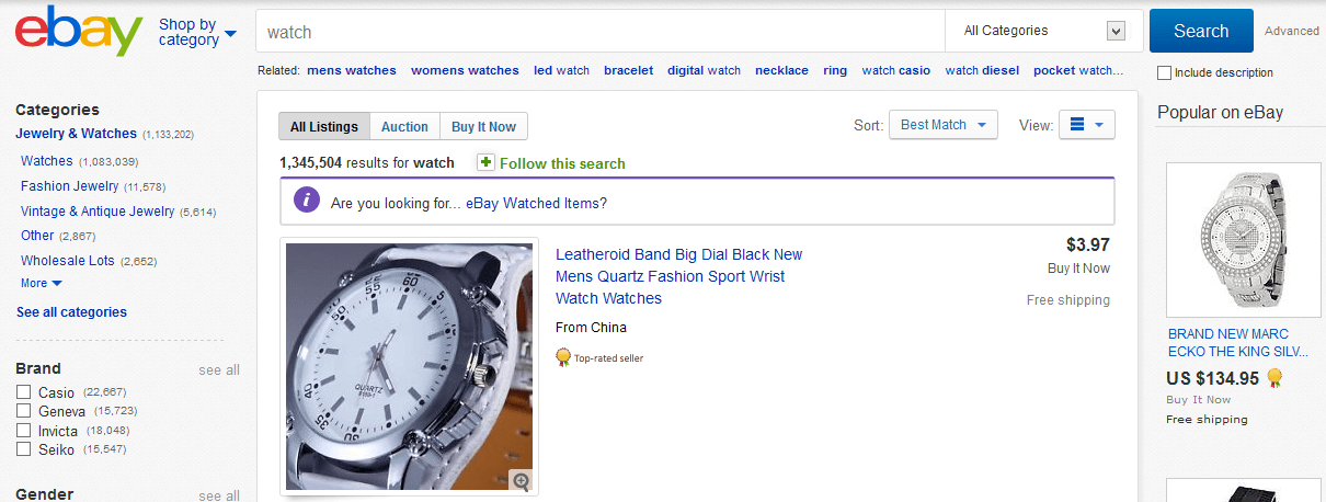 buy watch online