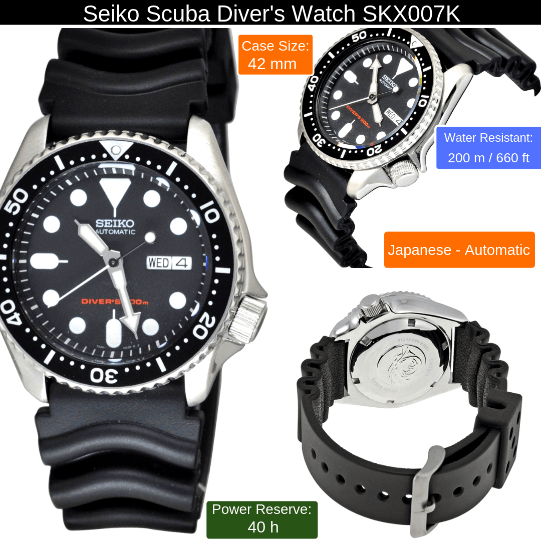 seiko scuba diver watch