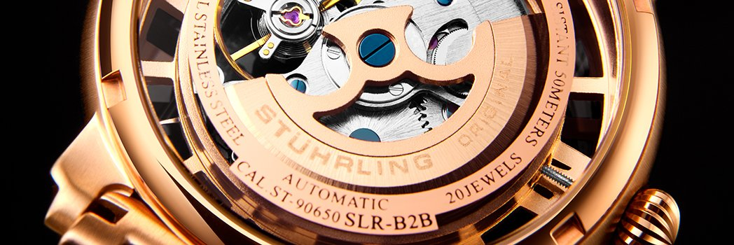 where are Stuhrling Watches made
