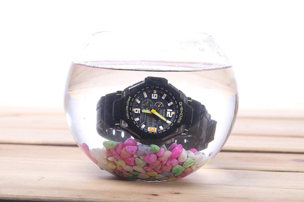 waterproof wrist watch